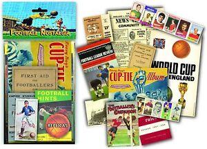 Football Nostalgia memorabilia pack  (mp)