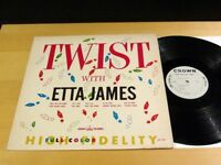 ETTA JAMES Twist With Etta James CROWN CLP-5250 Mono VG++/NM-