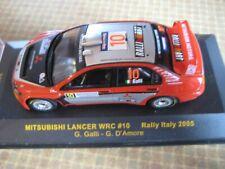 Mitsubishi Lancer WRC #10 Rally Italy 2005 Galli/D´Amore IXO 1:43
