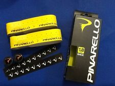NASTRO PINARELLO DRY 1,8 mm GIALLO TOUR  print NERO