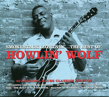 THE BEST OF HOWLIN' WOLF SMOKESTACK LIGHTNIN' - 2 CD BOX SET - SPOONFUL & MORE