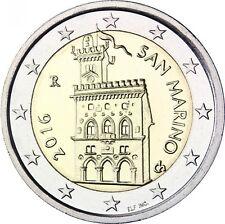 San Marino -  2 Euros 2016 Bi-Metallic   UNCIRCULATED