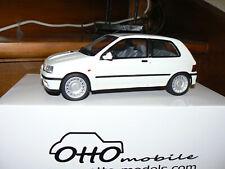 renault clio 16s blanche 1/18 1:18 otto ottomobile ottomodels boxed