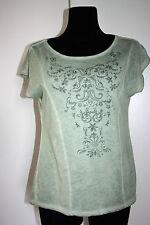 > PROMOD < Neues ungetragenes Shirt Gr.XL(40-42) lindgrün mit Motiv u. Nieten
