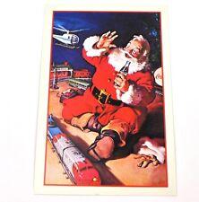 Coca-Cola Coca Cola USA Cartolina Cartolina natale Cartoline natale Santa 1962