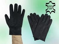 Herren Handschuhe Winter Echt Leder Schwarz L XL XXL NEU