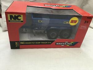 BRITAINS 1:32 ( 43182 ) NC POWER TILT DUMP TRAILER 314  - BOXED - OLD SHOP STOCK