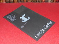 [COLLECTION J. LE BOURHIS DANSE BALLET] CAROLYN CARLSON EO 1986 Théatre Ville