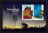 AUSTRALIA  2009 QUEENSLAND 150 YEARS...MINI - SHEET..... MUH