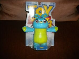 TOY STORY 4 POSABLE BUNNY DISNEY PIXAR HARD TOY FOR 3 + BLUE AND GREEN COLOR