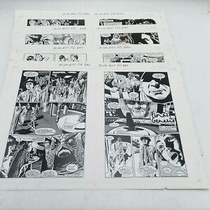 Comic Strip Production Artwork Proof 'Final Genesis' Ep. 4 Doctor Who Magazin...