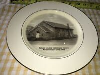VTG Taylor United Methodist Church Bicentennial Plate 1772-1972 Brownsville, PA