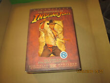 INDIANA JONES THE COMPLETE DVD COLLECTION  4 DISC BOX SET