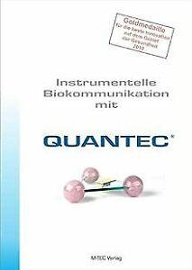 Instrumentelle Biokommunikation mit QUANTEC | Buch | Zustand sehr gut