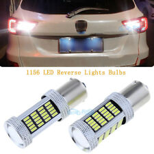2Pcs 1156 92smd-4014 Pure White LED Backup Bulbs Reverse Light 12V High Power