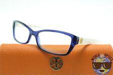 Tory Burch RX Eyeglasses TY 2041 1284 Blue Crystal/Ivory Frame [53-15-135]