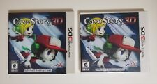 Cave Story 3D (Nintendo 3DS, 2011) LENTICULAR SLIP COVER *SEALED* EXCELLENT