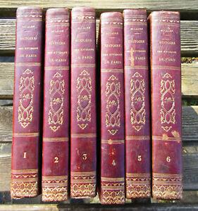 DULAURE 1838 - Histoire des environs de Paris