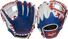 "Rawlings Pro204W-2Dr 11.5"" Heart of The Hide Flag Collection Baseball Glove D.R."