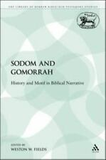 Sodom and Gomorrah: History and Motif in Biblical Narrative (Paperback or Softba