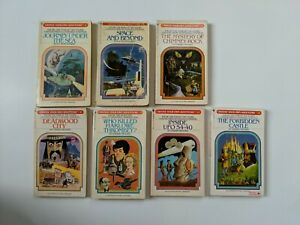 Choose Your Own Adventure Book Lot of 7 Vintage CYOA(#2,4,5,8,9,12,14)