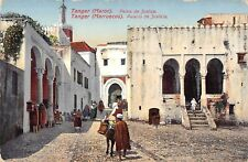 BR100098 tanger morocco palais de jusice types folklore costumes africa