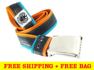 VEGAN CRUELTY FREE MENS BELT from Eco Upcycled Bicycle Tube + FREE DELIVERY