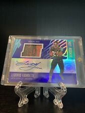 2017 Panini Phoenix  Leonard Fournette Football Patch Auto RPA One Of One 1/1