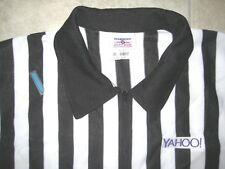 Internet YAHOO.com Football Soccer REferee Judge Uniform Polo Knit Shirt USED XL