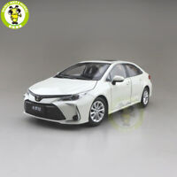1/18 ALL NEW Toyota Corolla 2019 diecast car model Toys Boys Girls Gifts White