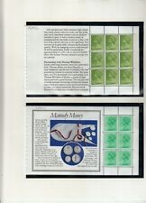 GB 1983 MACHIN BOOKLET PANES FROM ROYAL MINT BOOKLET  DX4 UMM