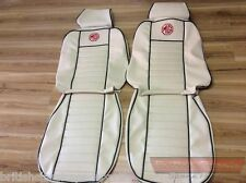 Seat Cover Set, MGB & MG BGT 68>, choice of colours & piping, Premium Leatherete