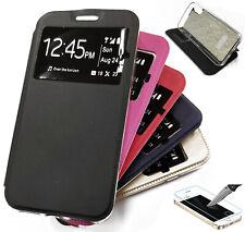 Funda Libro con Ventana con Soporte para Samsung Galaxy A11 (Protector opcional)