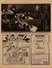 Devo LP/Tour Ramones 'High School' advert 1979 RS-XCSAW