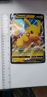 Pikachu V SWSH061 Promo Rare Holo Card Pokemon Shining Fates lot of 3