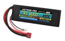 Lectron Pro 7.4V 8000mAh 100C Lipo Battery with Deans Connector