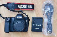 Canon EOS 6D 20.2MP Fotocamera Reflex Digitale-Nero (Solo Corpo) 18k conteggio dell'otturatore