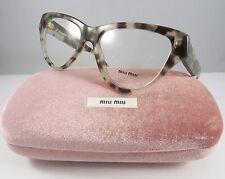 292fa3b3ddee Miu Miu Women s White Glasses with case VMU 10N UAF-1O1 54mm