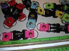 BUCKLE UP KEY CHAIN LOT OF 12 KEYCHAINS