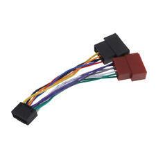 ISO Car Radio Adapter Cable Connector 16 Pin Power For Kenwood / JVC Radio