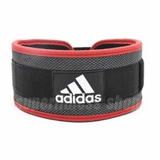 adidas Nylon Lumbar Lifting Belt Size L - Gym Power Weight Training Back Support