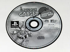 Inspector Gadget Gadgets Crazy Maze Sony Playstation PS1 Video Game Disc Only