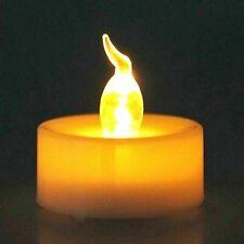 LED Smart Light Warm White Flameless LED Tea Lights Candles Battery Tealights_UK