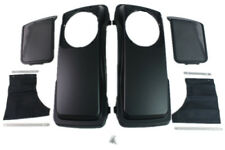 Matt/denim black color Saddlebag 6*9 Speaker Lids for Harley hard bags 1993-2013