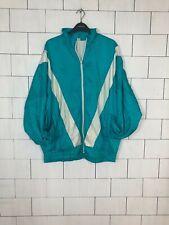 VINTAGE RETRO BRIGHT BOLD FESTIVAL 90's SHELL SUIT JACKET WINDBREAKER XL #426
