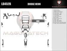 Dash Trim Kit for DODGE NEON 00 01 02 03 04 05 carbon fiber wood aluminum