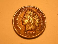 1896 Indian Head Cent (Attractive)