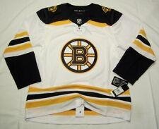 BOSTON BRUINS size 46 = Small ADIDAS NHL HOCKEY JERSEY Aeroready Authentic Away