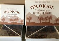 2 X 5LB BOX`CALIFORNIA MEDJOOL DATES. NATURALLY SWEET,TASTY AND SOFT ON SPECIAL