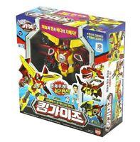 Hello Carbot KINGGUYS King Guys 4 Type Transformer Robot Kinggaiz Korean Toy